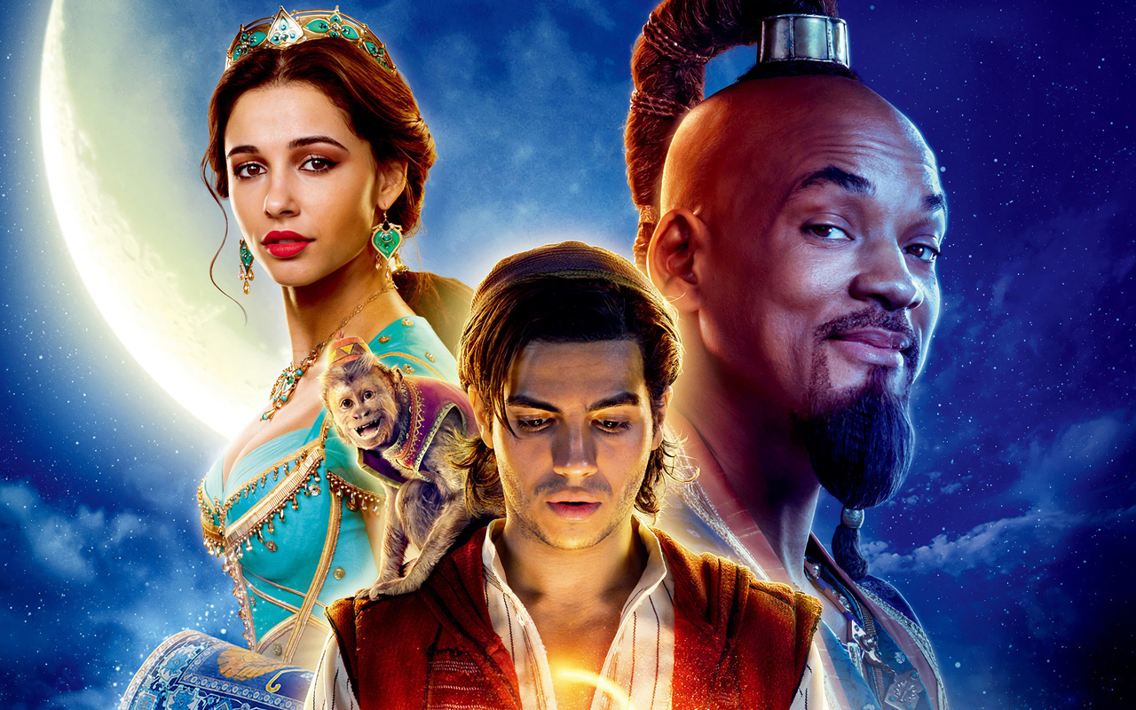 Aladdin, 2019: The Genie Jumps Out Of The Bottle, In Jordan