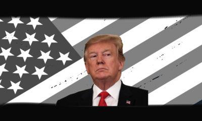 Trump US Flag Graphic