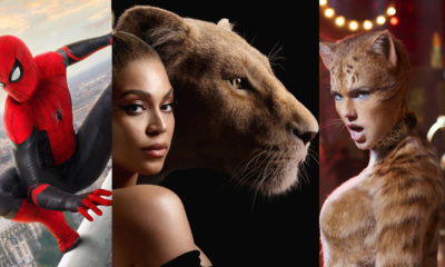 Spiderman Lion King Cats Movie Graphic