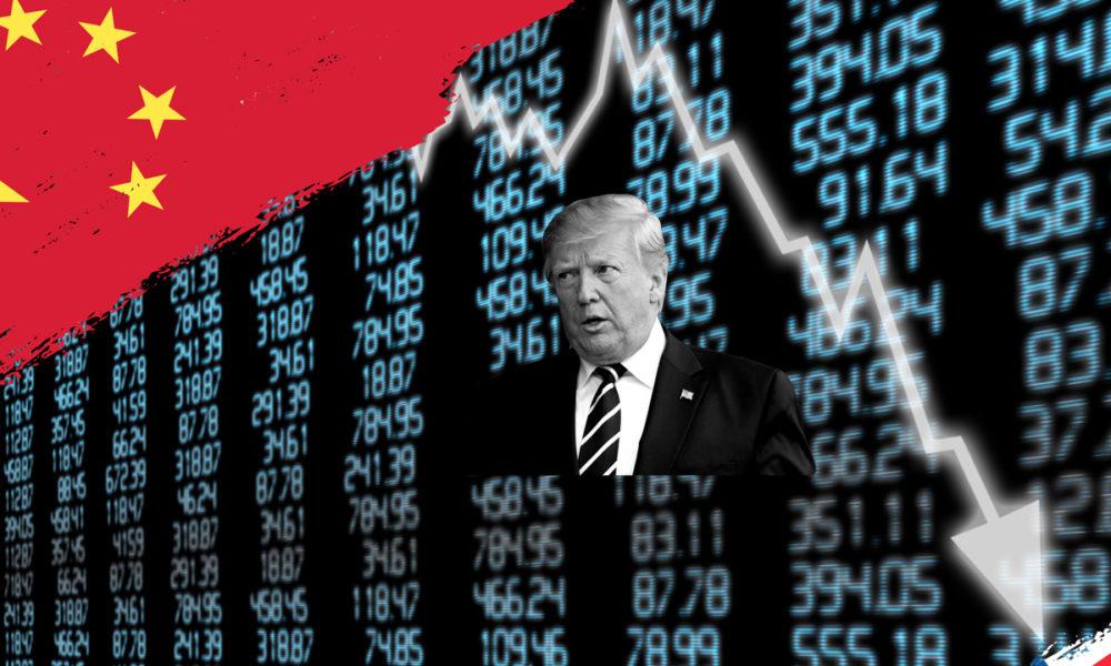 Dow Drops Trump Graphic