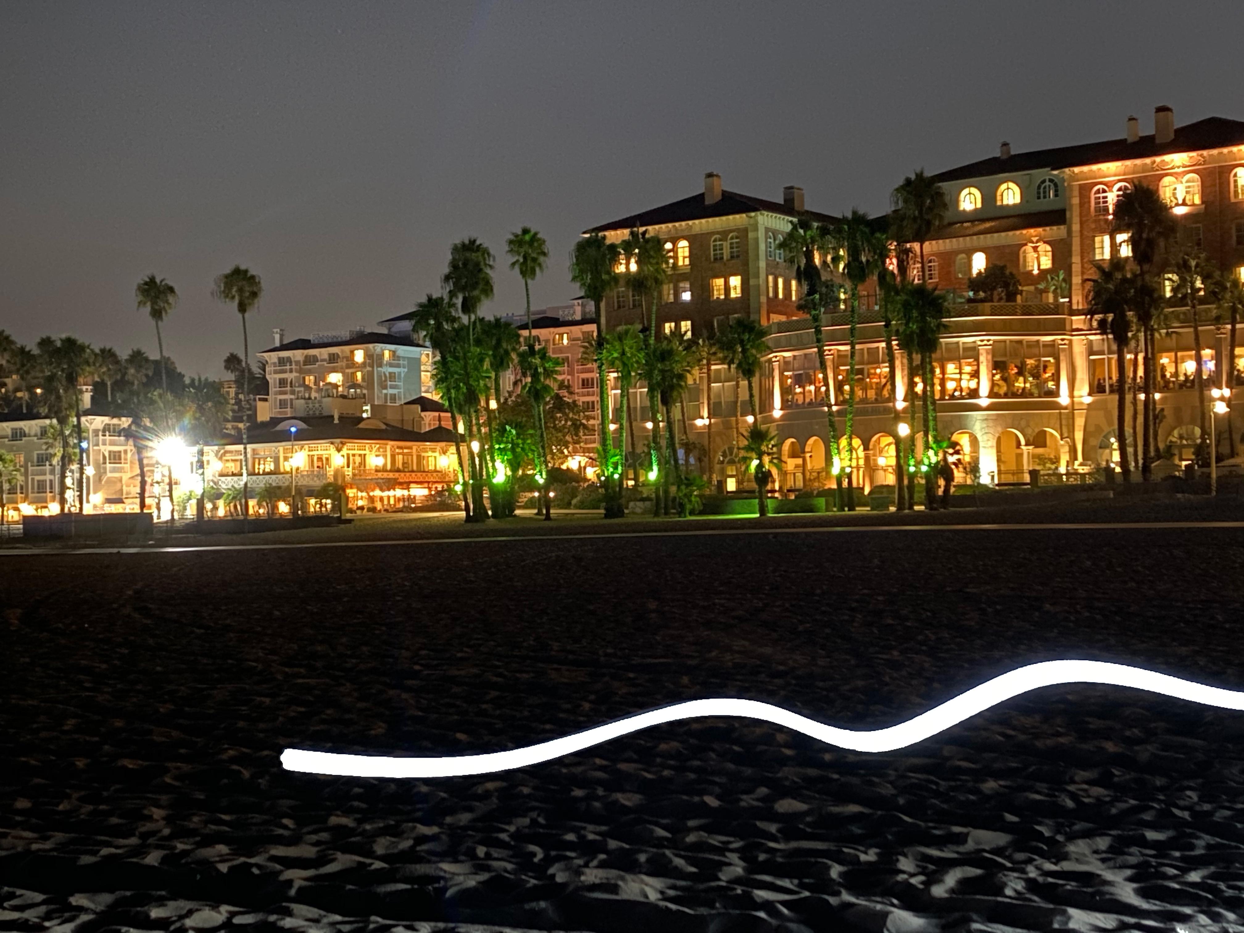 Flashlight Night Shot