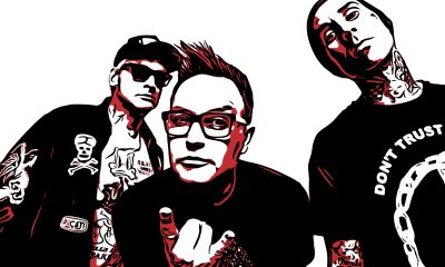 Graphic Collage of Blink182