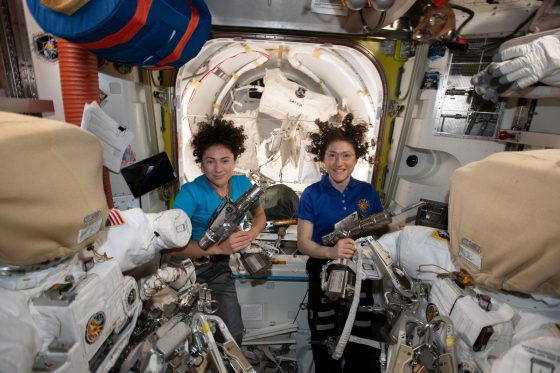 Historic All Female Spacewalk and New Artemis Space Suits Unveiled by NASA
