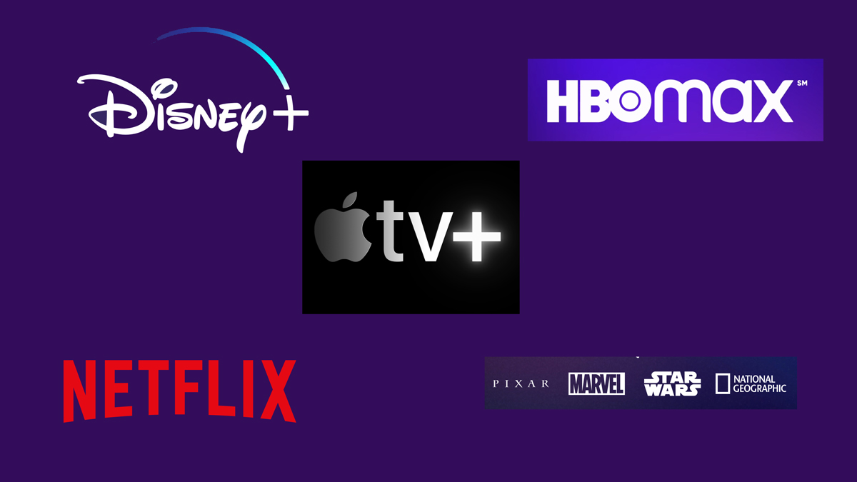 The Streaming Wars as the Decade Begins: Disney Up, Netflix Down, Apple Emerging, and HBO Max TBD
