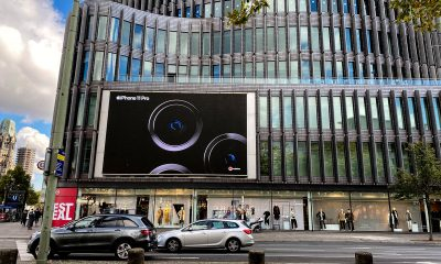 iPhone ad on Berlin Kudamm