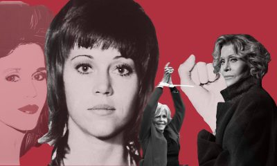 Jane Fonda Collage Portrait