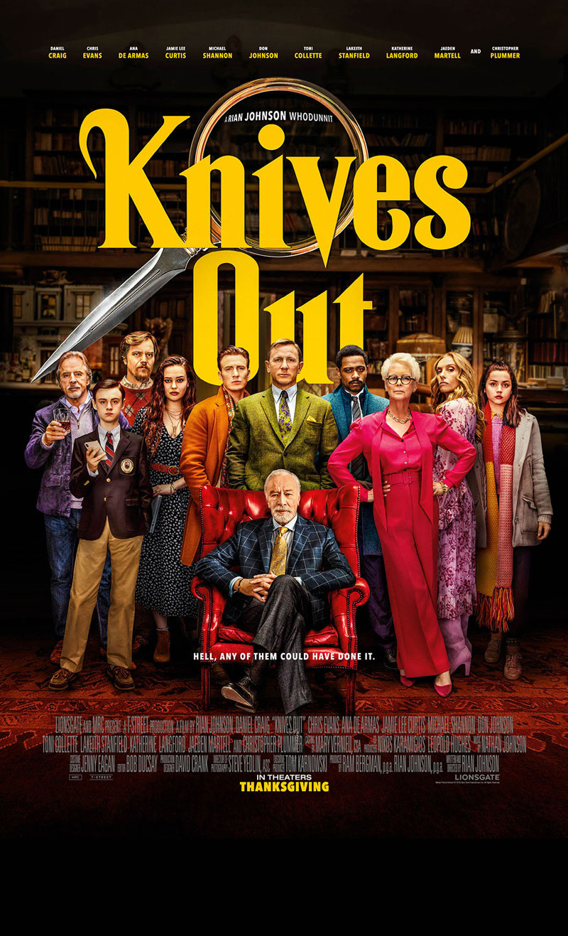 Knives Out Official Poster
