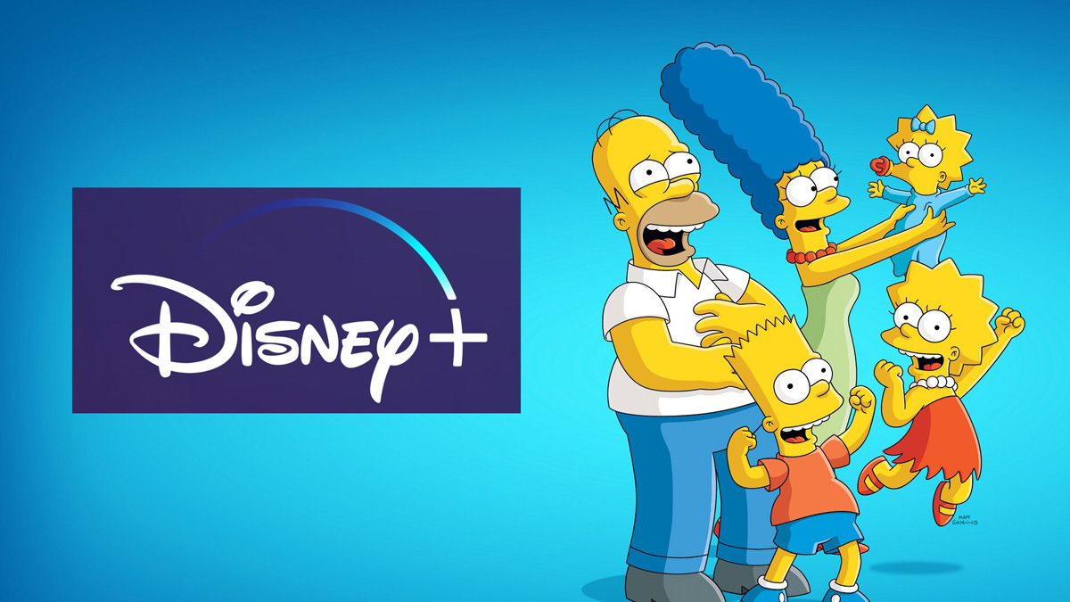 Simpsons DisneyPlus