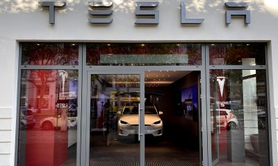 Tesla Storefront on Kurfürstendamm in Berlin, Germany - Photo / Monique Ly