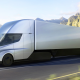 Tesla Semi on Desert Road