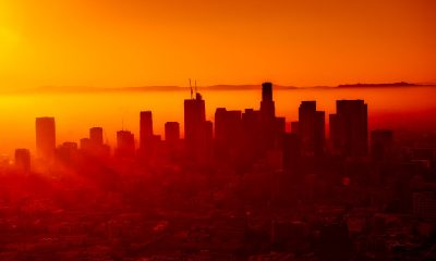 Los Angeles Sunset with Smog