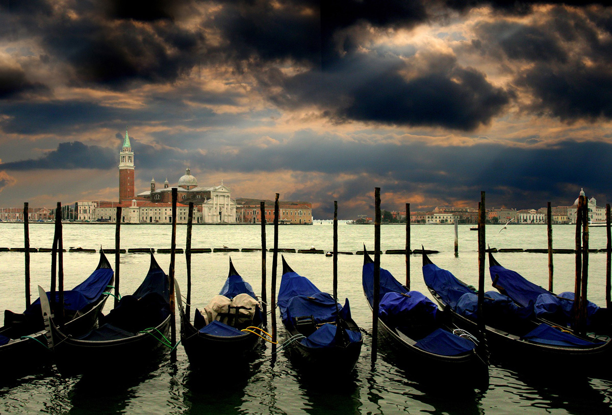 Venice with Cloudy Day from Pixelbay