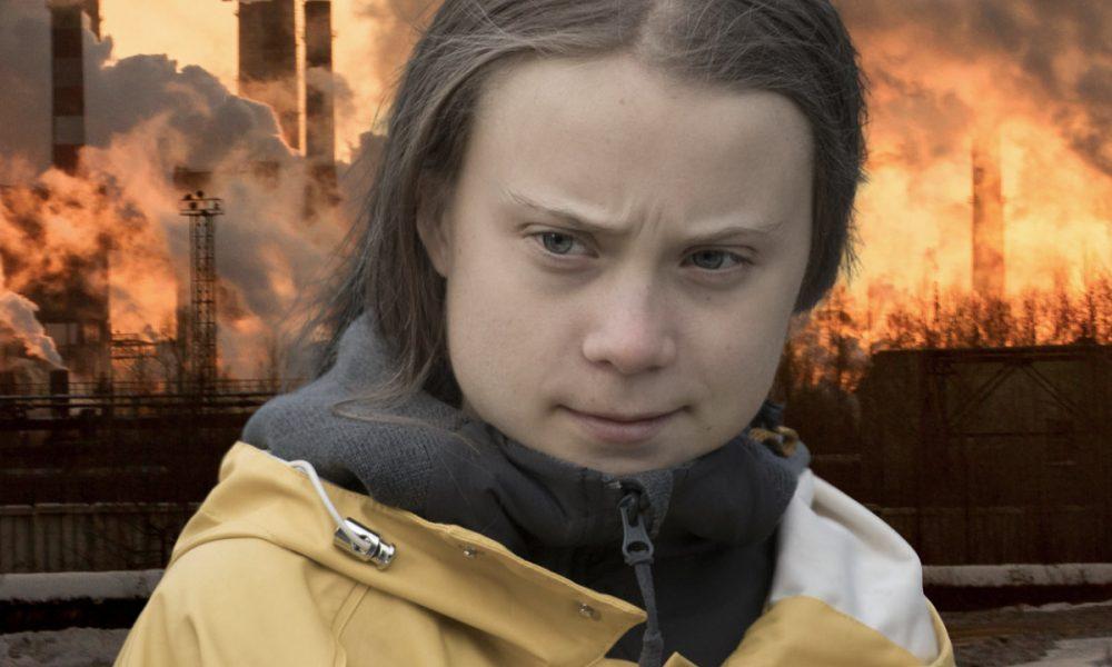 Greta Thunberg contemplates the future