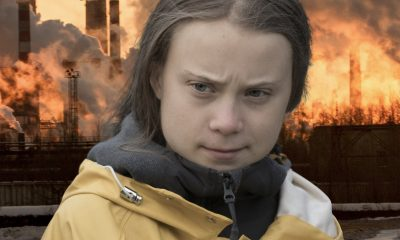 Greta Thunberg contemplates the future