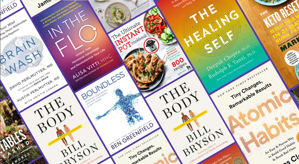 8 Best Health and Wellness Books of 2020: Ways to Get Strong and Svelte for Spring