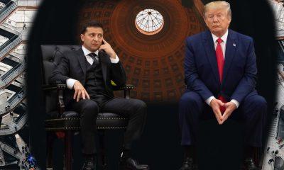Ukraine president Zelensky & Trump