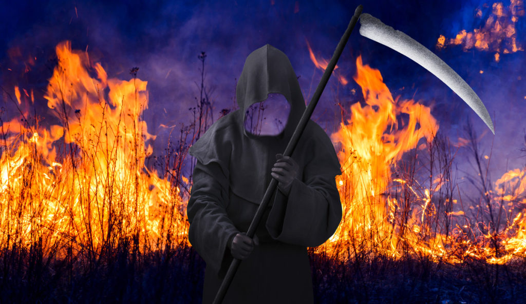 Grim Reaper with no Face