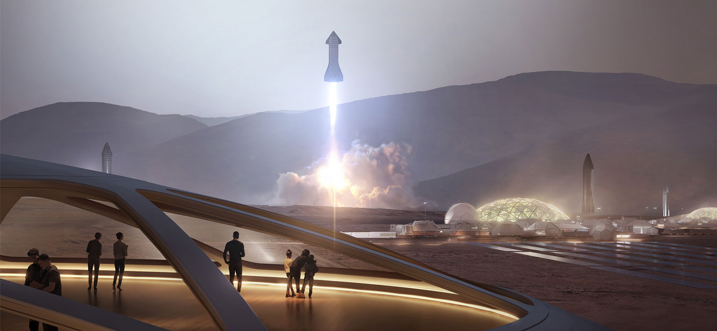 SpaceX Innovations are about more than just the Moon and Mars
