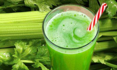 Celery Juice Collage