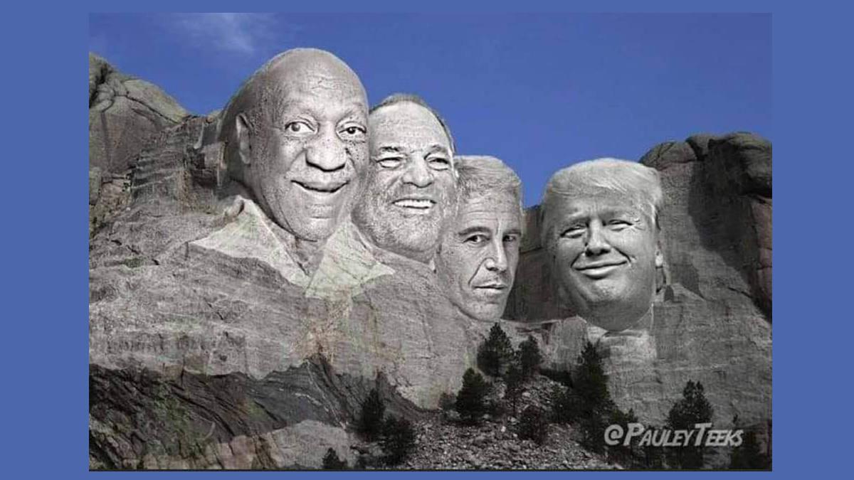 Alternative version of Mount Rushmore