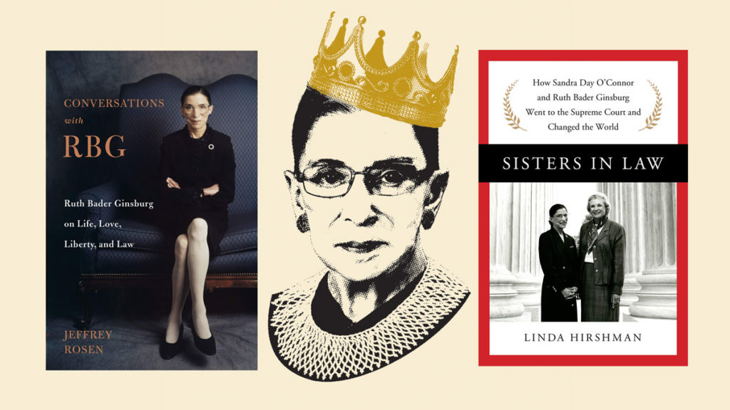 Books to read right now about the life of Supreme Court Justice Ruth Bader Ginsburg