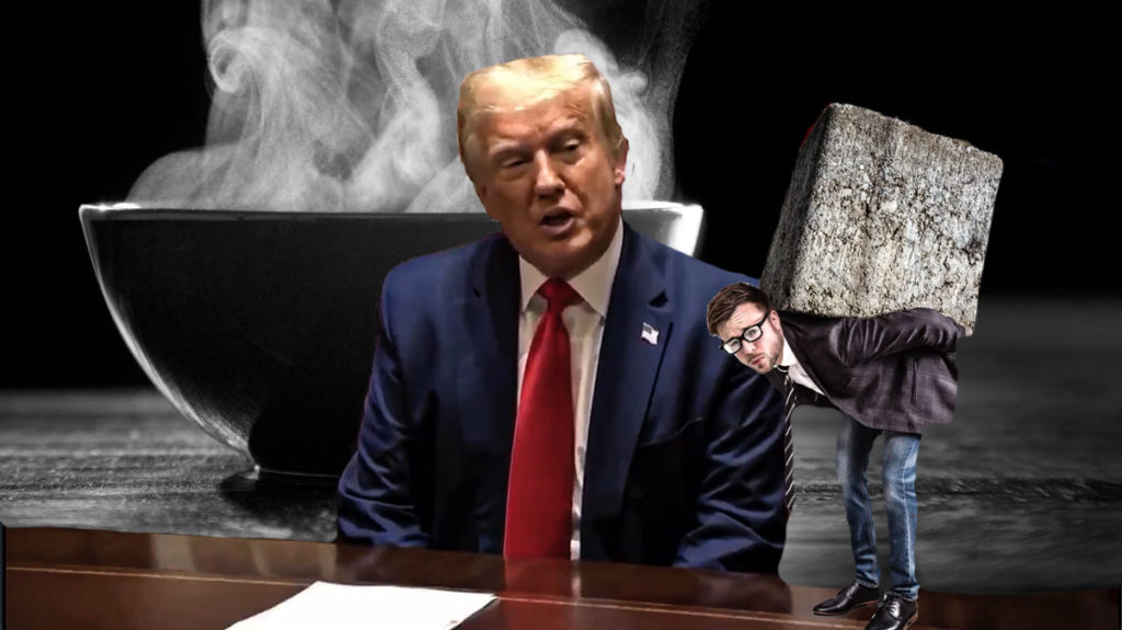 Trump's Soup Tirade is Setting off a S#@T Storm on Twitter
