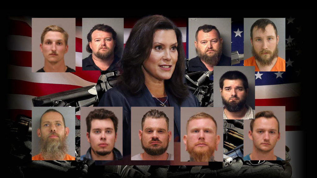 """""""Wolverine Watchmen"""" plot to abduct Governor Gretchin Whitmer: Group Members Charged with Conspiracy to Kidnap"""