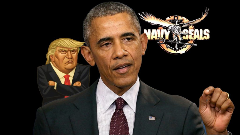 Barack Obama invokes Navy Seals as way to remove Trump from WH in flashback to Bin Laden Take-down
