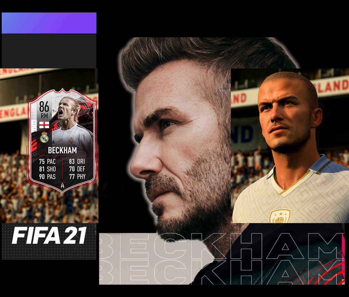 David Beckham, Legend of the Game, Returns as EA FIFA 21 Cover Star