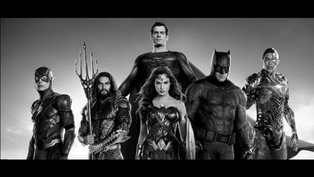 Justice League releases brand new Black and White Trailer for upcoming HBO Max 2021 movie release