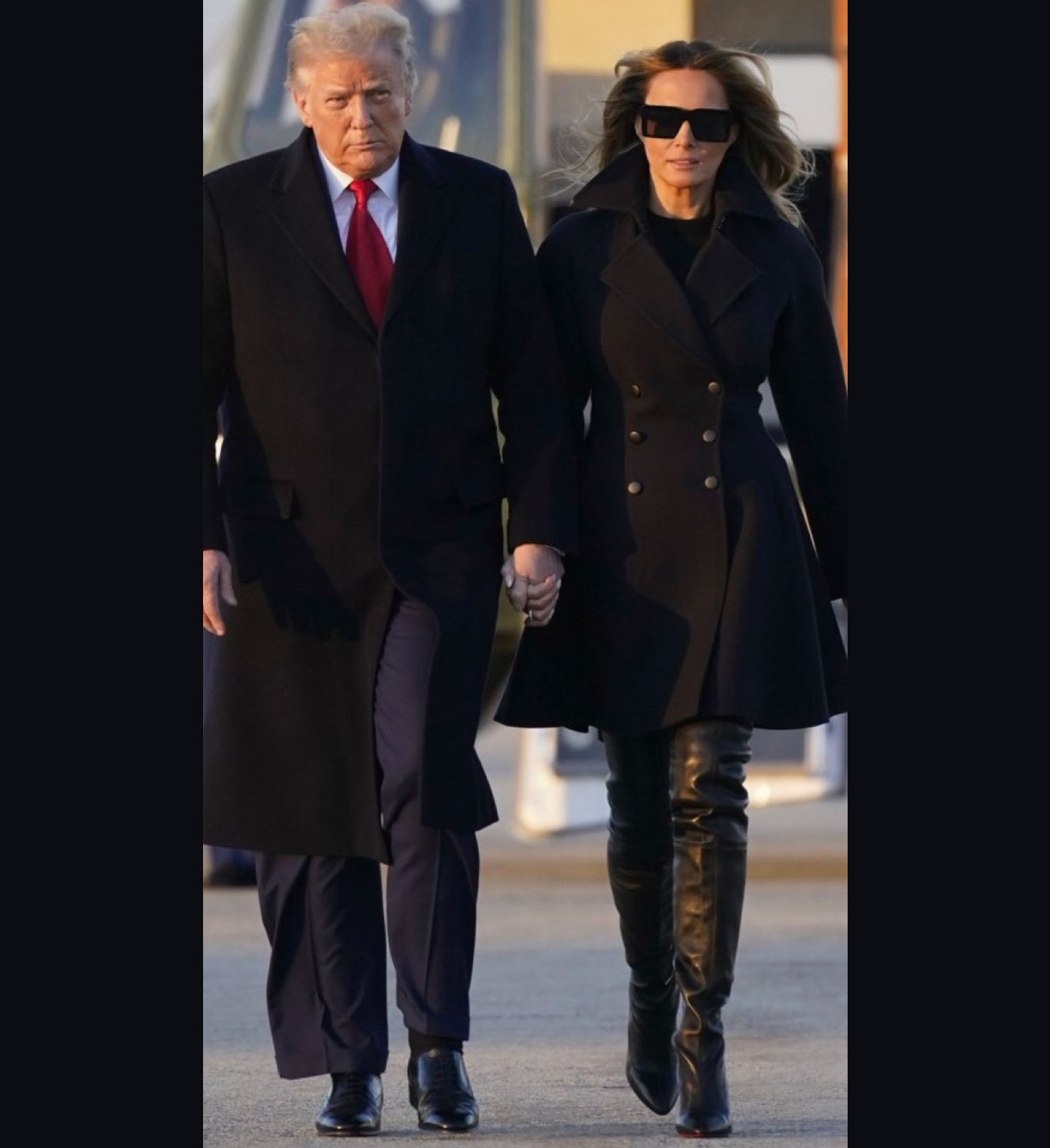 Trump with Fake Melania, the Shameful Brood Excoriated on Social Media and Memes