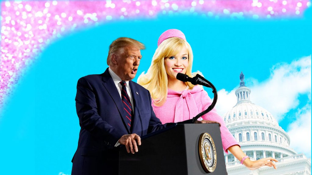 Trump's Speech hilariously mirrors and mimics 'Legally Blonde' movie