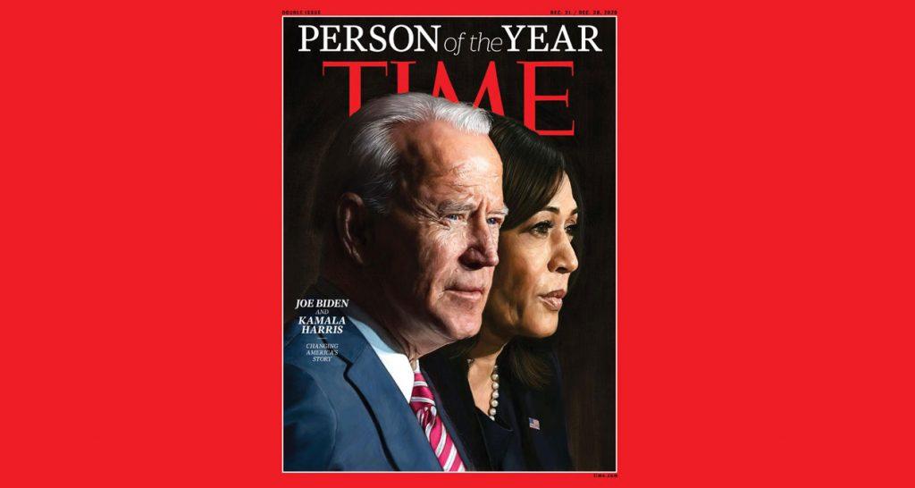 Joe Biden & Kamala Harris are Time's Person of the Year