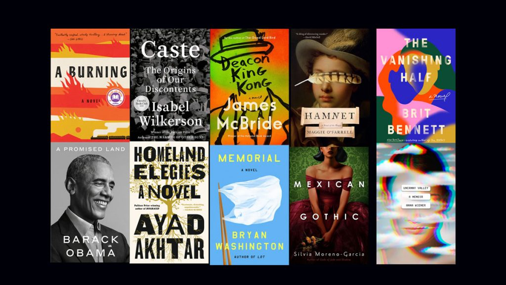 Top 10 Books of 2020