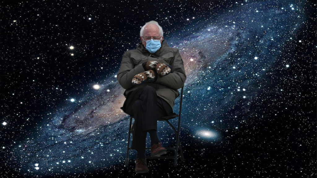 Bernie Sanders Memes Conquer Earth Internet, set sights on Cosmos