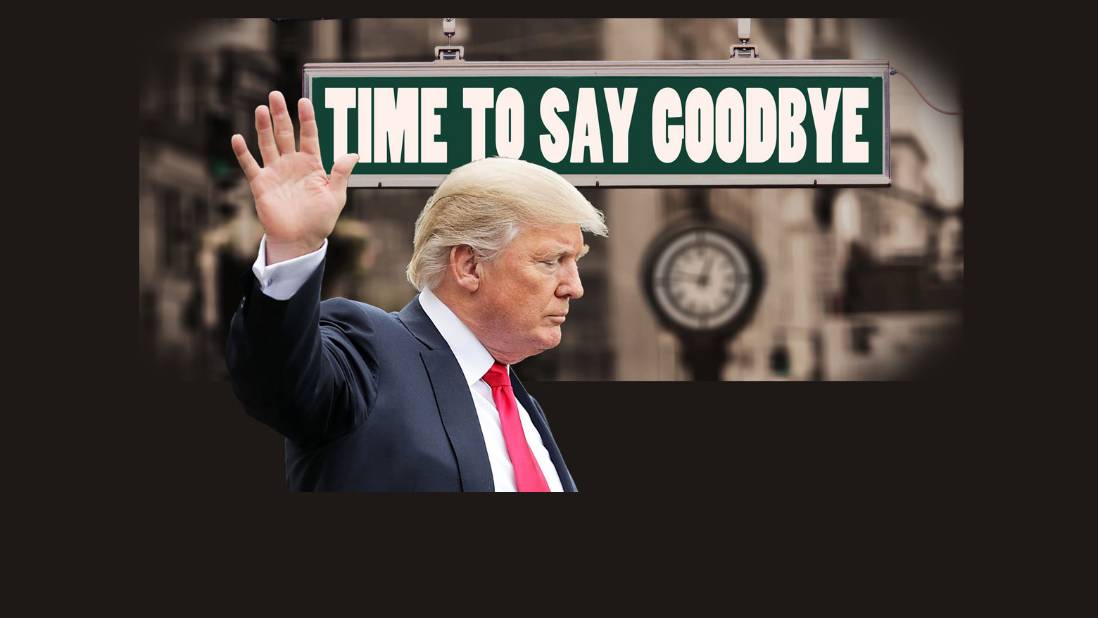A Year that Begins on January 20th: Goodbye to Trump & 2020