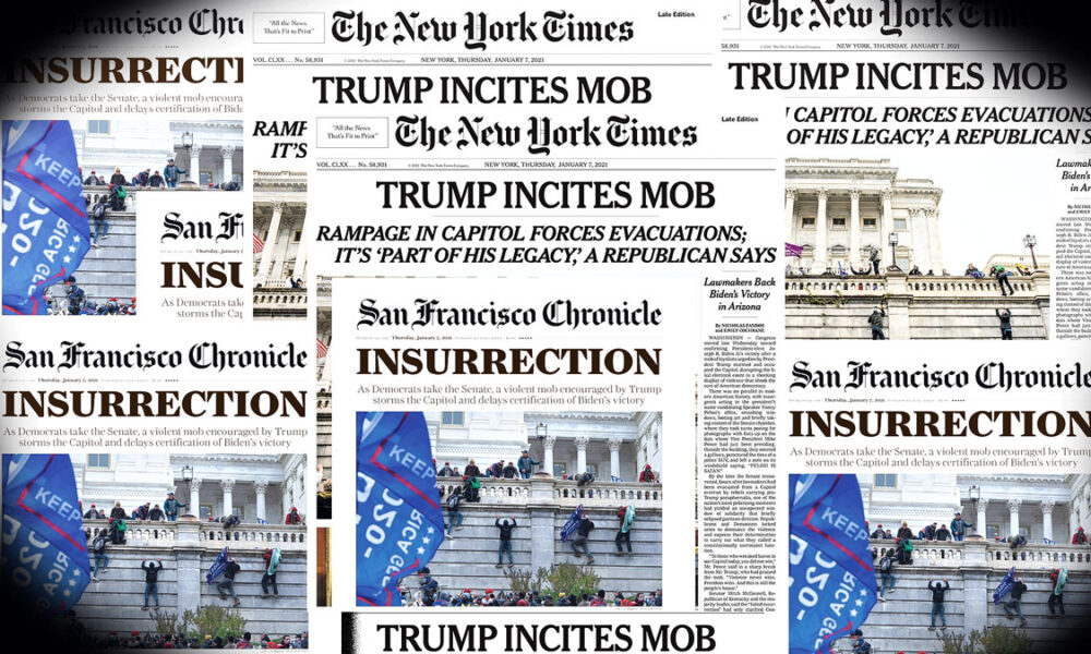 Trump Headlines Explode Faster than Anyone can Absorb