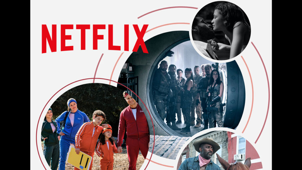 Netflix excites with 71 Movies to be released during 2021