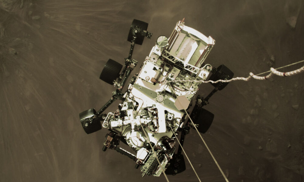 NASA shares the Perseverance Rover's epic arrival on Mars: video landing and even audio