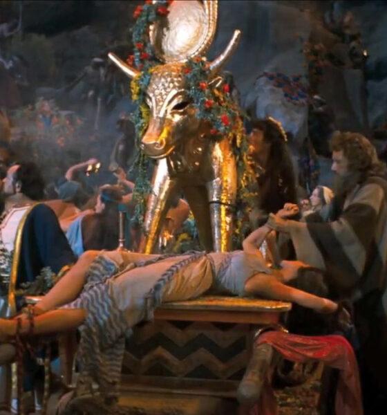 Golden Calf Ten Commandments