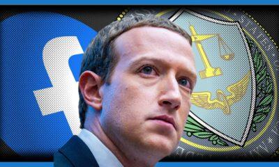 Zuckerberg with logos